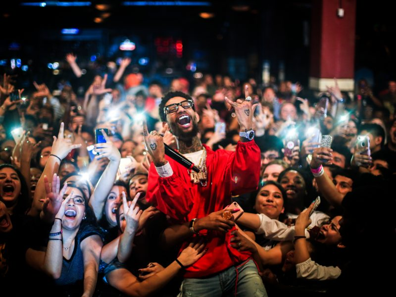 hip hop artist on tour - PNB Rock